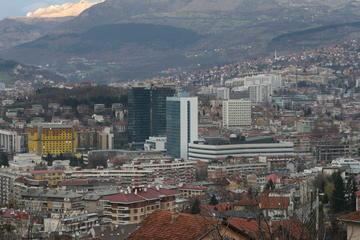 Sarajevo, la torre del Parlamento (Foto A. Rossini)