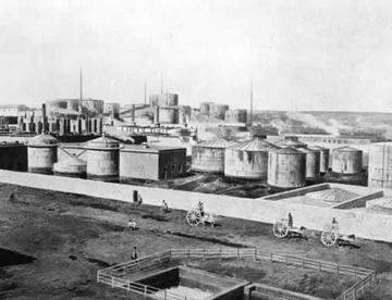Baku-depositi di petrolio