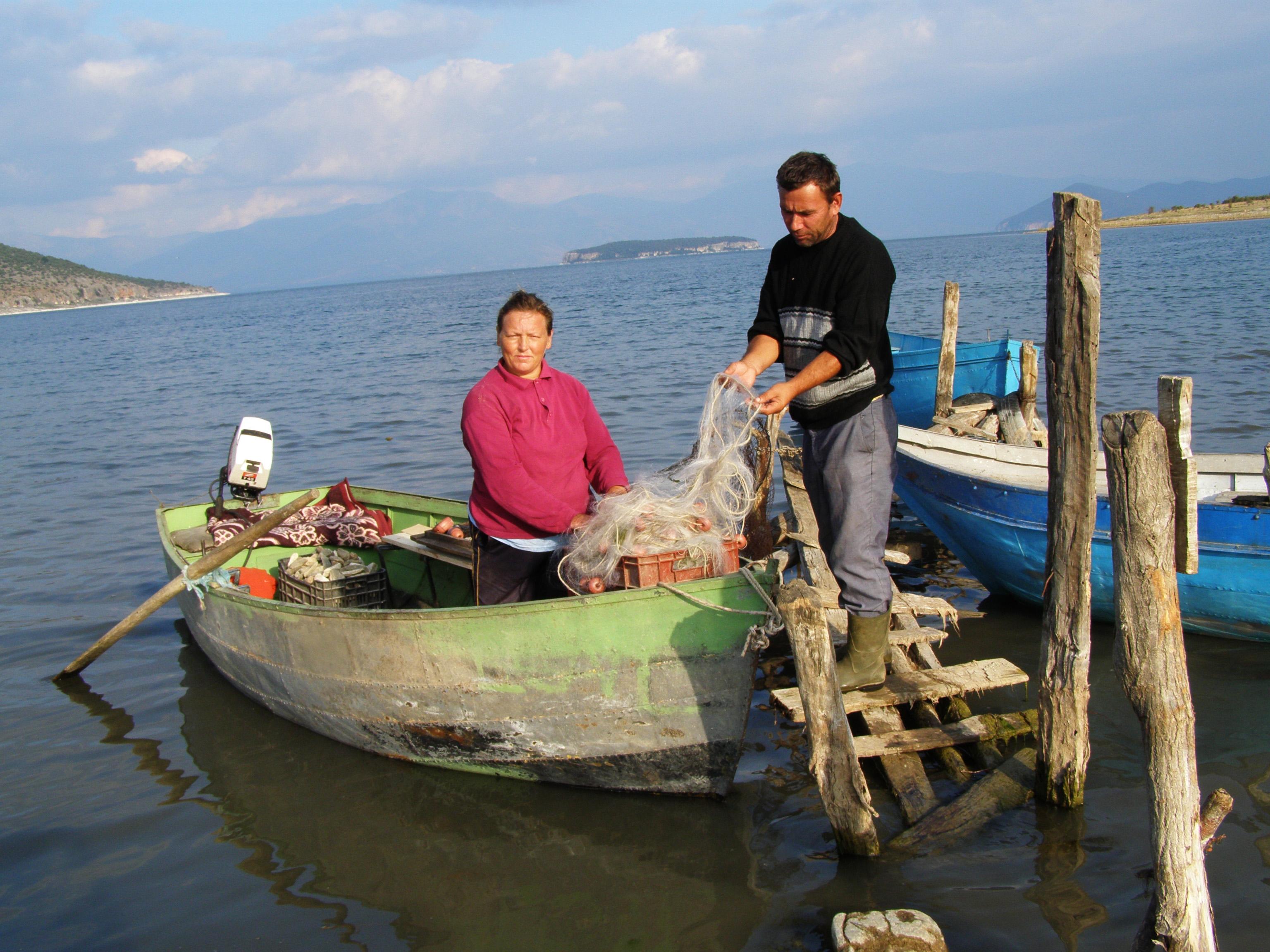 Sharapova che caccia di pesca