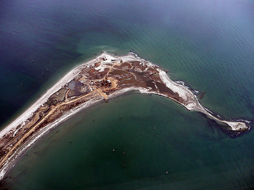 Area di trivellazioni vicino Baku, in Azerbaijan, sul mar Caspio (Dan../Flickr)