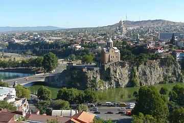 Panorama di Tbilisi