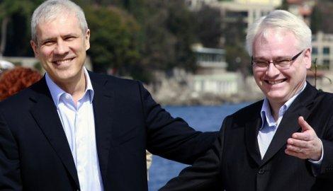 Boris Tadić e Ivo Josipović