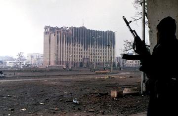 Palazzo del governo, Grozny, gennaio 1995