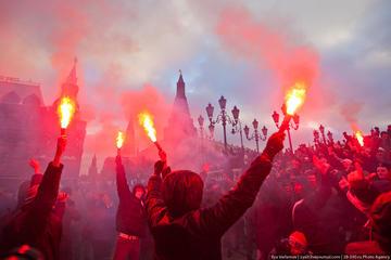 Manifestazione nazionalista a Mosca