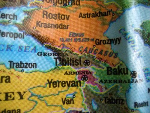 Mappa del Caucaso (giveawayboy /Flickr)
