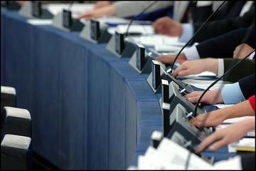 Votazione al Parlamento europeo