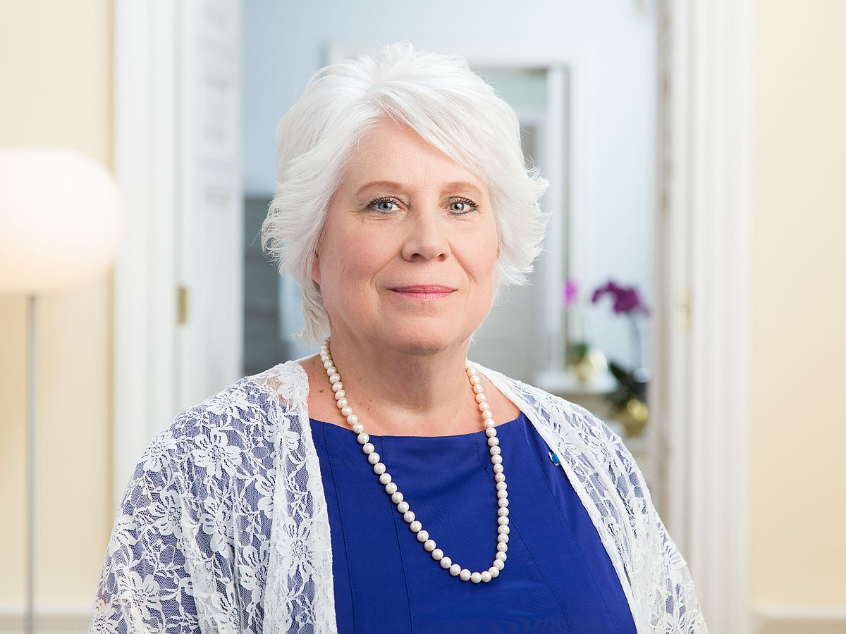 Marina Kaljurand, Minister of Foreign Affairs of Estonia from 2015 to 2016 and MEP since 2019, current President of the EP Delegation for Relations with the South Caucasus (photo:Wikimedia)