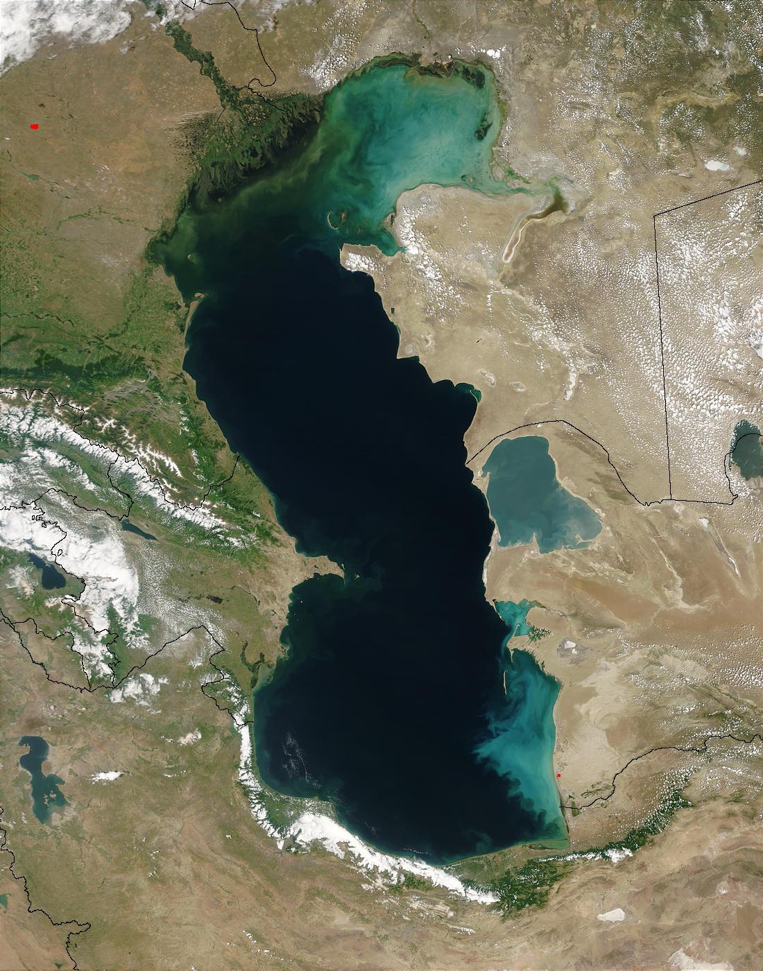 Il Mar Caspio