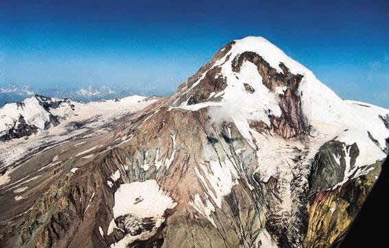 """Mount Bashlam, or """"Kazbek"""""""