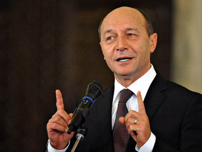 Image result for President of Romania, Traian Băsescu