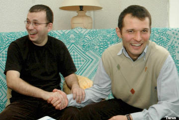 Emin (Milli) Abdullayev and Adnan Hajizade