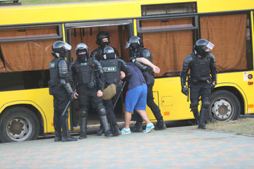 Proteste a Minsk, in Bielorussia – foto Ramil Nasibulin – Shutterstock