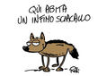 La vignetta di Stefano Rolli diventata il simbolo del flashmob della FNSI.jpg