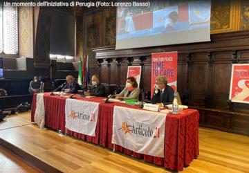 Incontro di Perugia (FNSI - foto Lorenzo Basso)