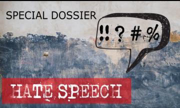 Copertina Dossier Hate speech di OBCT