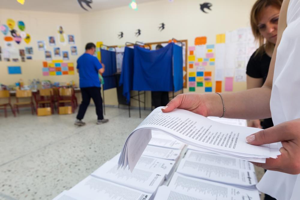Un seggio di Salonicco nel 2014 (© Ververidis Vasilis/Shutterstock)