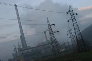 Una centrale energetica nel Cantone di Zenica Doboj (Foto Andrea Rossini)